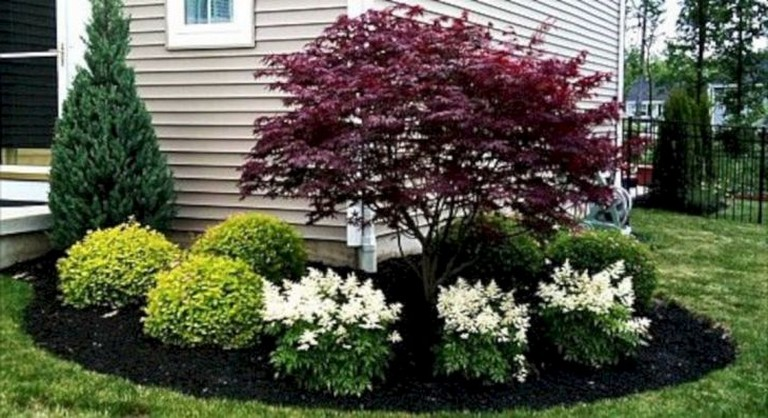 Amazing 20 Simple And Beautiful Front Yard Landscaping On A Budget