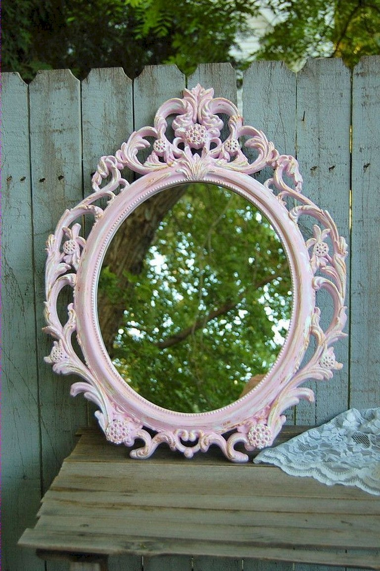 20+ Gorgeous DIY Painted Mirror Designs Ideas - Page 5 of 22