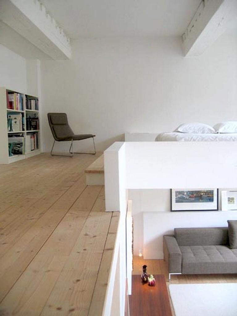 52+ Stunning Tiny Loft Apartment Decor Ideas - Page 9 of 54