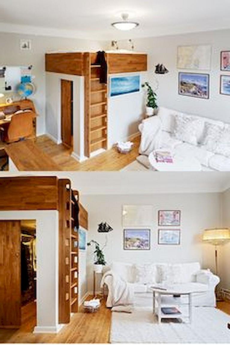 52+ Stunning Tiny Loft Apartment Decor Ideas - Page 2 of 54