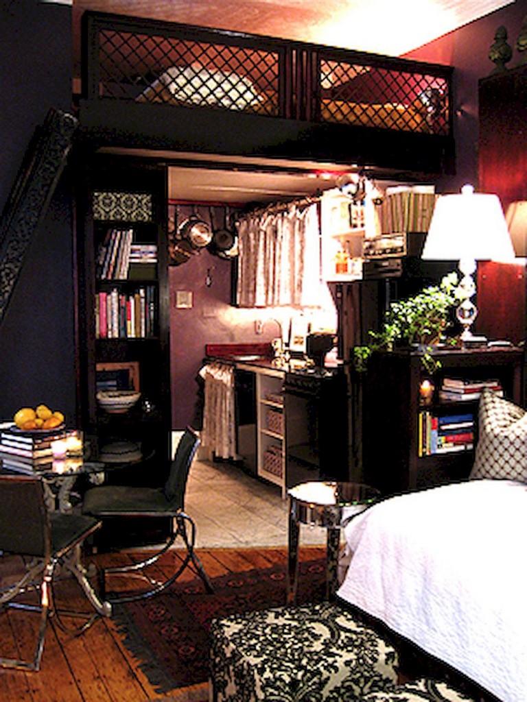 52+ Stunning Tiny Loft Apartment Decor Ideas