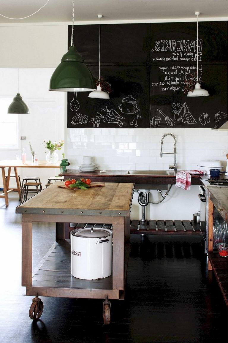 marvellous modern industrial kitchen ideas | 55+ Marvelous Industrial Kitchen Style Ideas
