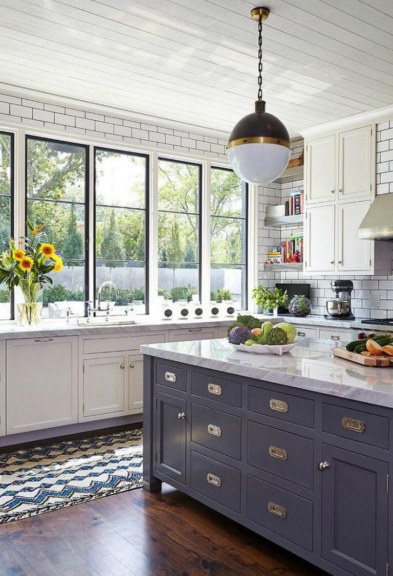 70+ Stunning White Cabinets Kitchen Backsplash Decor Ideas ...