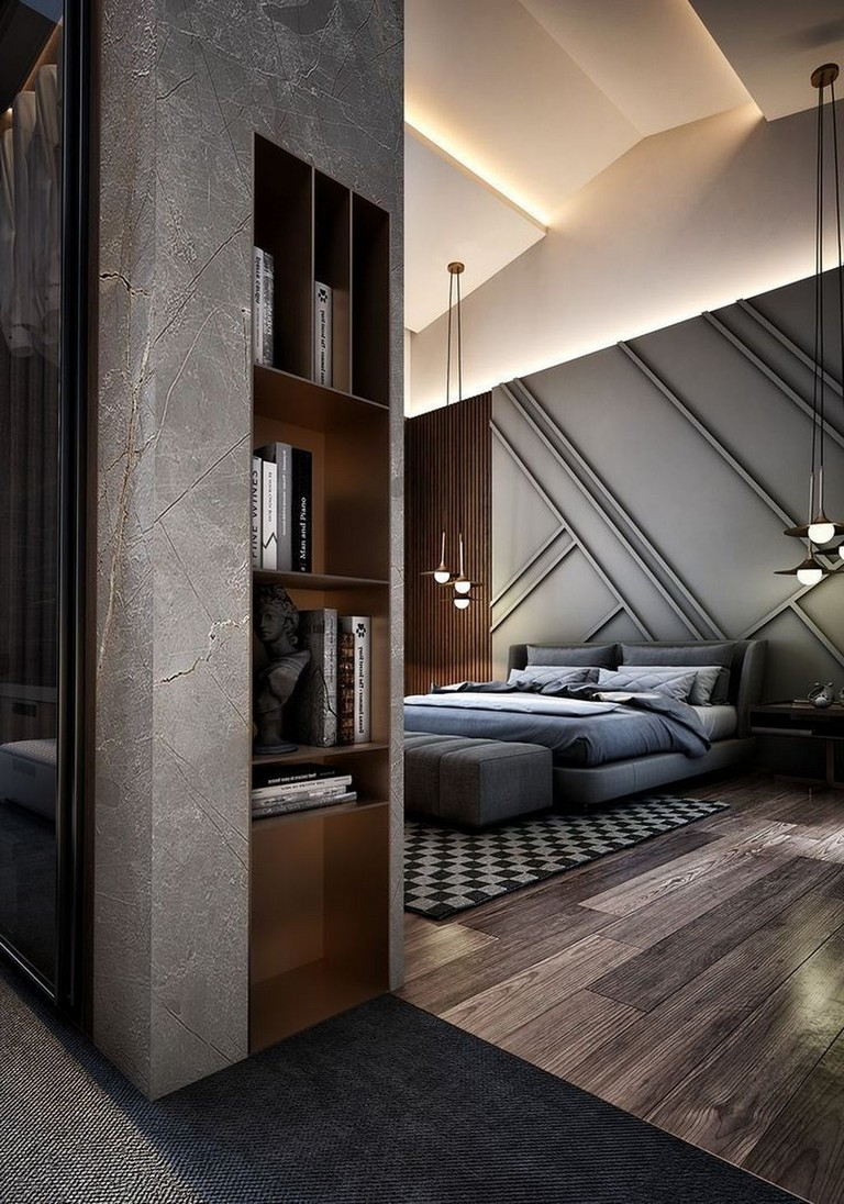 12 Stunning Bedroom Paint Ideas For Your Master Suite: 46+ Stunning Bedroom Designs With Bathroom